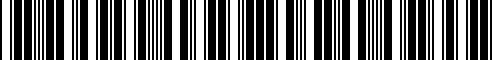 Barcode for T98Q7-5ZW2A